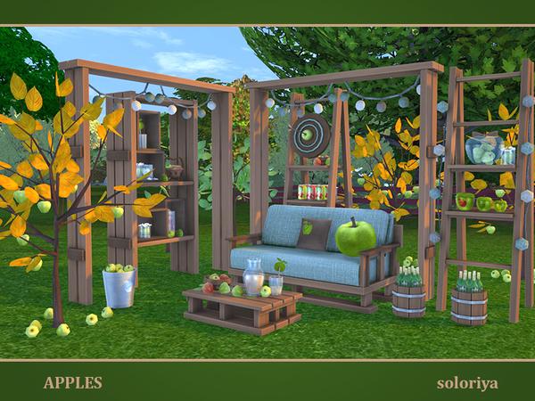 Apples set by soloriya at TSR image 7417 Sims 4 Updates