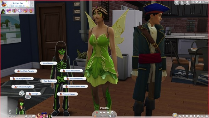 More costumes for holiday tradition by Peterskywalker at Mod The Sims image 746 670x377 Sims 4 Updates