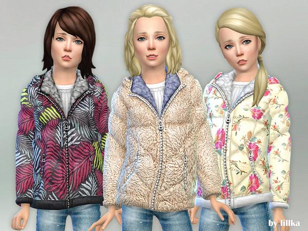 Sims 4 Winter Jacket by lillka at TSR