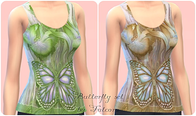 Butterfly Set 7x at Petka Falcora image 7521 Sims 4 Updates