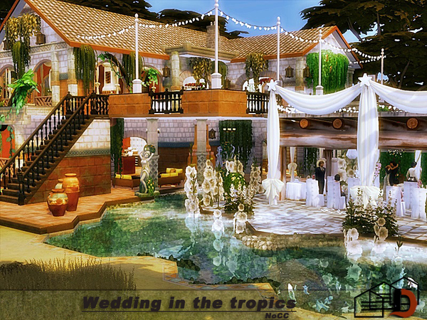 Wedding in the tropics by Danuta720 at TSR image 7618 Sims 4 Updates