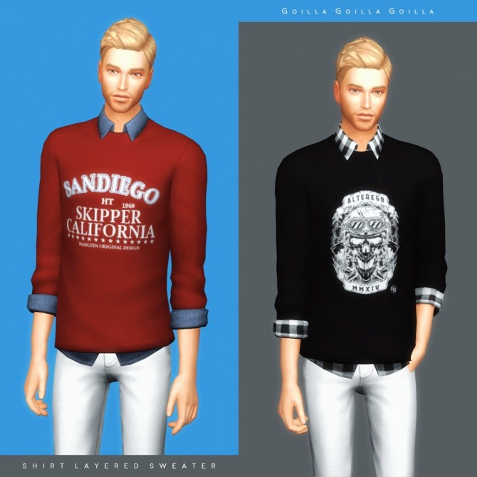 Maxis Match Collection at Gorilla image 762 670x670 Sims 4 Updates