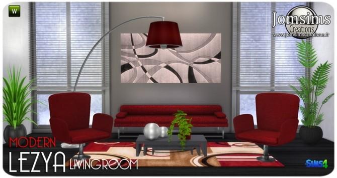 Lezya living room at Jomsims Creations image 7620 670x355 Sims 4 Updates