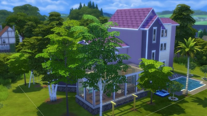 The violet house by iSandor at Mod The Sims image 765 670x377 Sims 4 Updates
