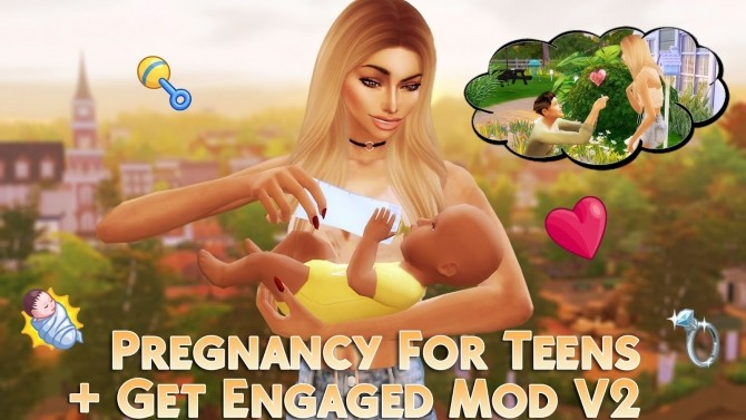Sims 4 Get Engaged Mod V2 at MSQ Sims