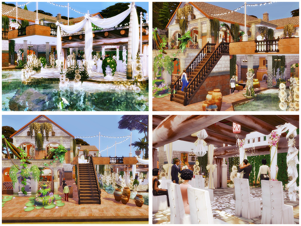 Wedding in the tropics by Danuta720 at TSR image 7718 Sims 4 Updates