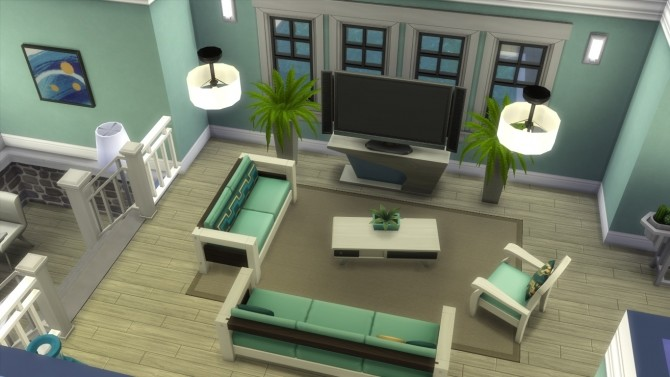 The violet house by iSandor at Mod The Sims image 776 670x377 Sims 4 Updates