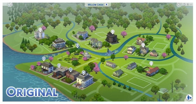 Willow Creek Map Override by Menaceman44 at Mod The Sims image 777 670x357 Sims 4 Updates