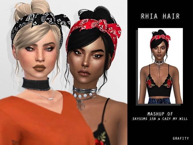 RHIA HAIR at Grafity cc image 7816 670x503 Sims 4 Updates