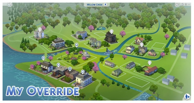 Willow Creek Map Override by Menaceman44 at Mod The Sims image 787 670x357 Sims 4 Updates