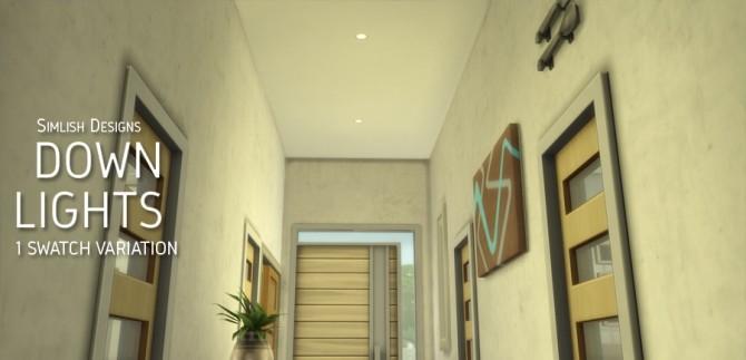 Down Lights at Simlish Designs image 7913 670x323 Sims 4 Updates