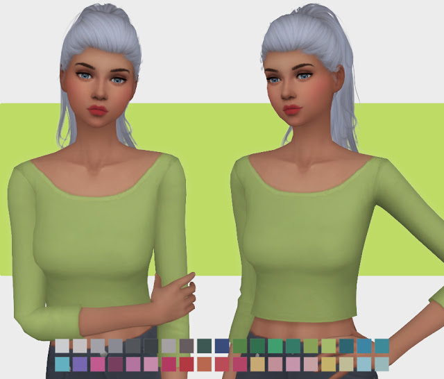 Sims 4 Movie Hangout Crop Re Colours at Simlish Designs