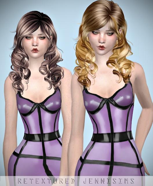 Sims 4 Newsea AzureSky Hair retexture at Jenni Sims