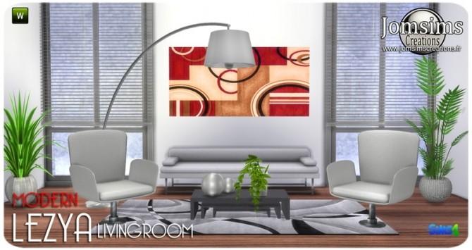 Lezya living room at Jomsims Creations image 7920 670x355 Sims 4 Updates