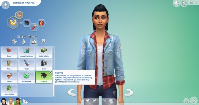 Valkyrie Trait by TheLovelyGameryt at Mod The Sims image 796 670x355 Sims 4 Updates