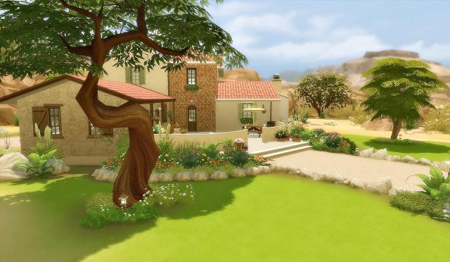 Sims 4 Suburban House 50 Oasis Springs at Via Sims