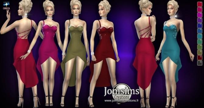 Sims 4 Arnaelli dress at Jomsims Creations