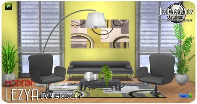 Lezya living room at Jomsims Creations image 8020 670x355 Sims 4 Updates