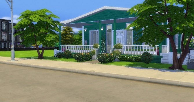 Sims 4 Kijani house by EzzieValentine at Mod The Sims