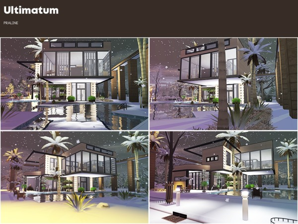 Ultimatum house by Pralinesims at TSR image 810 Sims 4 Updates