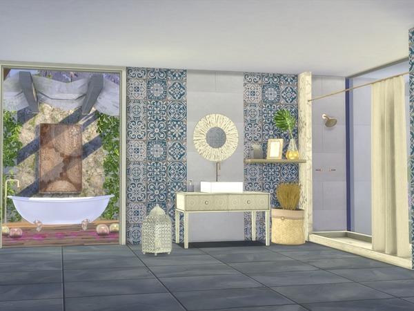 Giorno Bathroom by Nikadema at TSR image 8103 Sims 4 Updates