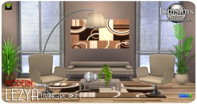 Lezya living room at Jomsims Creations image 8124 670x355 Sims 4 Updates