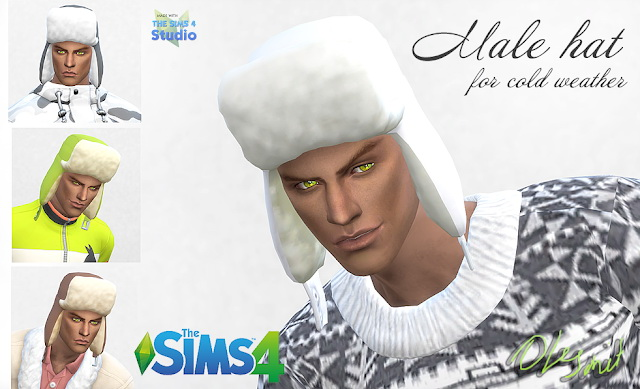 Male hat at OleSims image 813 Sims 4 Updates