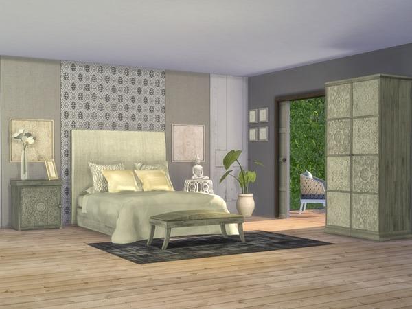 Giorno Bedroom by Nikadema at TSR image 816 Sims 4 Updates