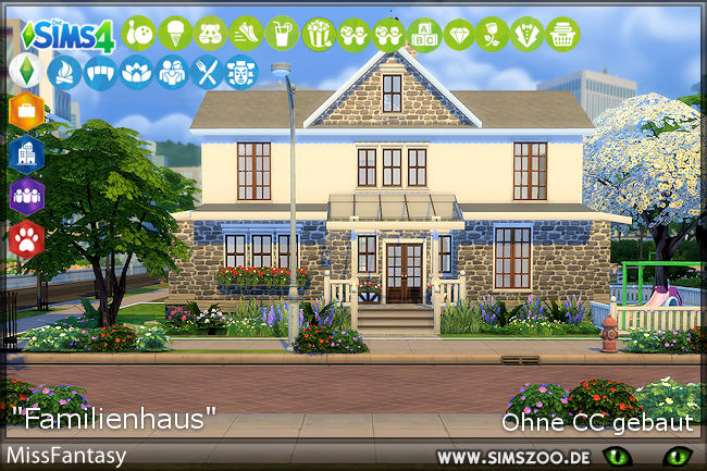 Family house by MissFantasy at Blacky's Sims Zoo image 819 Sims 4 Updates