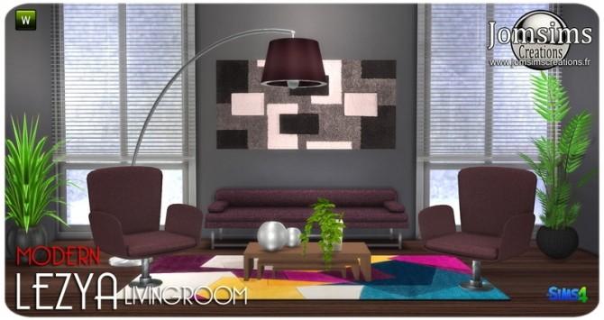 Lezya living room at Jomsims Creations image 8222 670x355 Sims 4 Updates