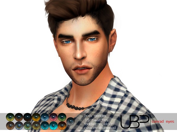 Conrad eyes by Urielbeaupre at TSR image 828 Sims 4 Updates