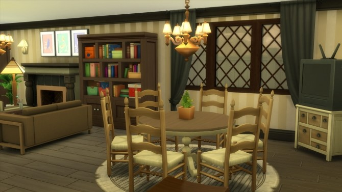 Sims 4 4 Privet Drive from Harry Potter by iSandor at Mod The Sims