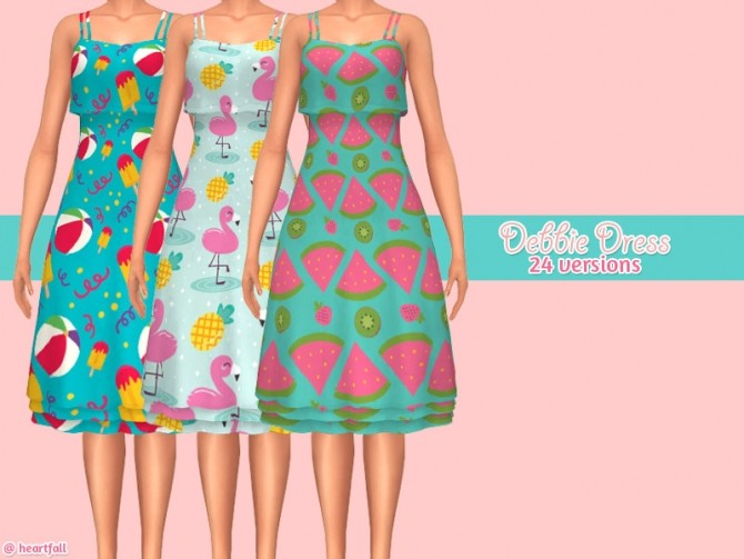 Celine dress at Heartfall image 8316 670x503 Sims 4 Updates