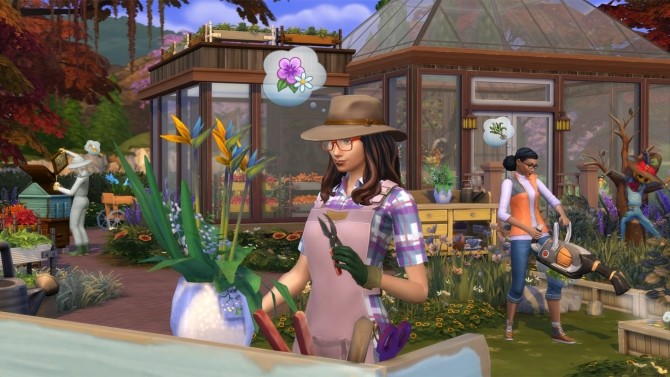 Sims 4 Gardening Base Game Update at The Sims™ News