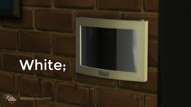 H&B Smart Thermostat by littledica at Mod The Sims image 836 670x377 Sims 4 Updates