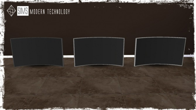 4Sims Curved TV 3T4 Conversion at Sims Modern Technology image 84 670x377 Sims 4 Updates