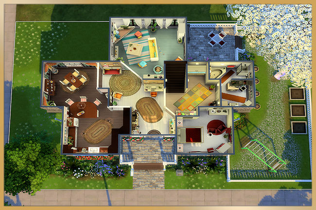 Family house by MissFantasy at Blacky's Sims Zoo image 845 Sims 4 Updates
