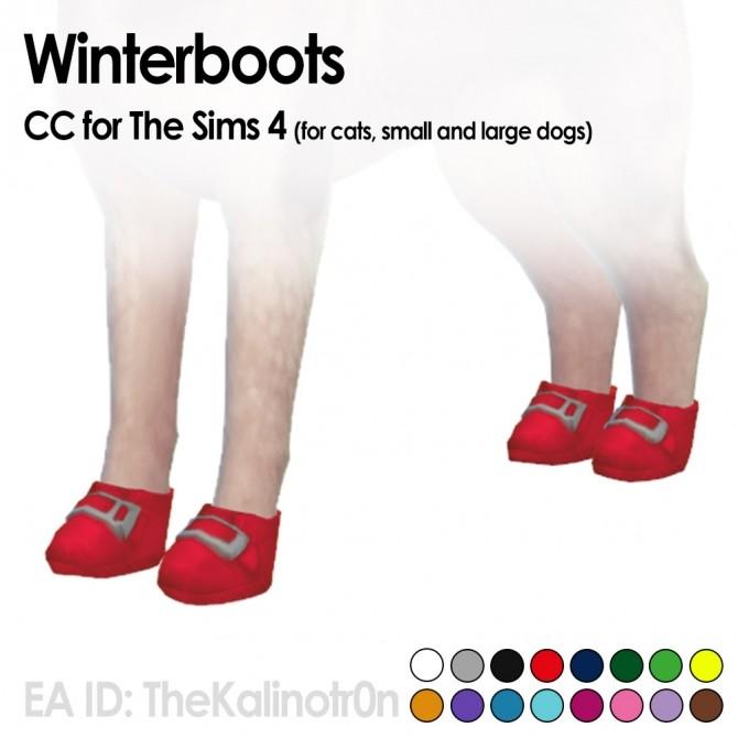 Sims 4 Snowboots at Kalino