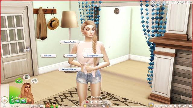 Sims 4 Hire Aupair at MSQ Sims