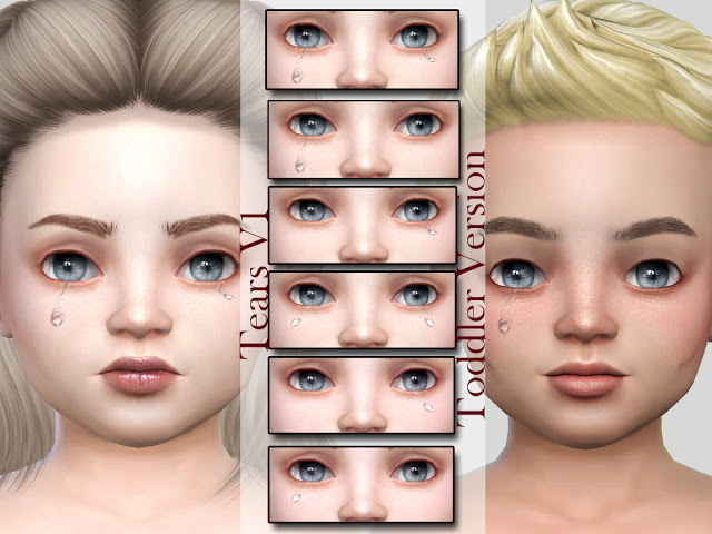 Tears V1 Toddler Version at MSQ Sims image 896 Sims 4 Updates