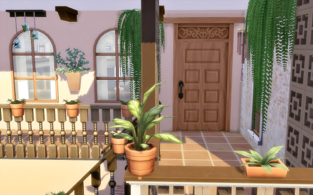 Sims 4 House 54 Oasis Springs at Via Sims