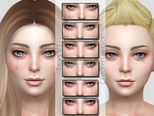Tears V1 Children Version at MSQ Sims image 906 Sims 4 Updates