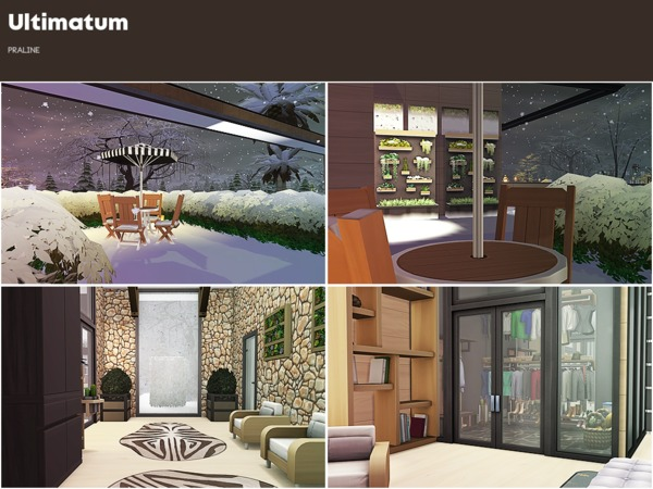 Ultimatum house by Pralinesims at TSR image 910 Sims 4 Updates