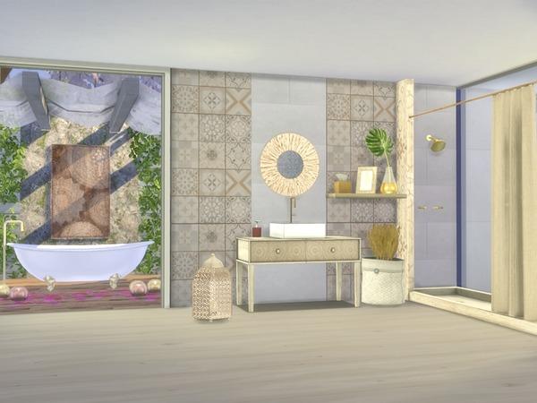 Giorno Bathroom by Nikadema at TSR image 9103 Sims 4 Updates
