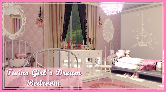 Twins Girls Dream Bedroom at Lily Sims image 9111 Sims 4 Updates