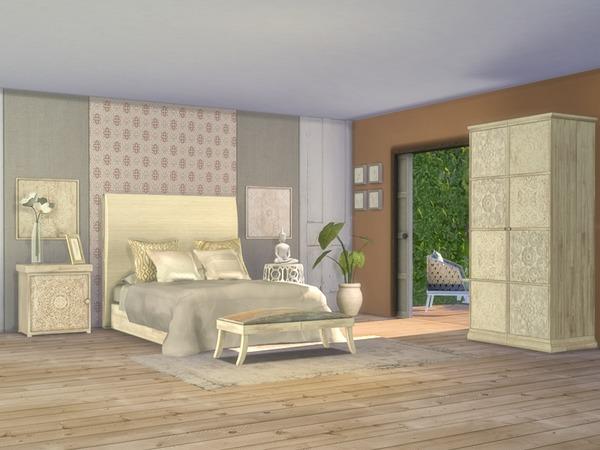 Giorno Bedroom by Nikadema at TSR image 916 Sims 4 Updates