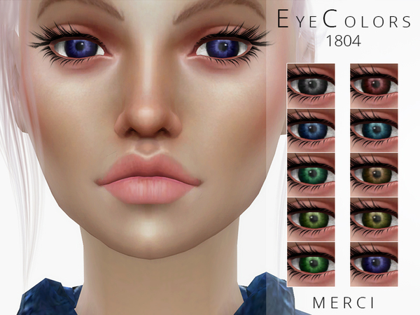 Eyecolors 1804 by Merci at TSR image 926 Sims 4 Updates