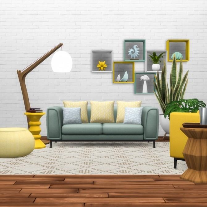 Trenton Seating Modern Sofa Set at Simsational Designs image 9311 670x670 Sims 4 Updates