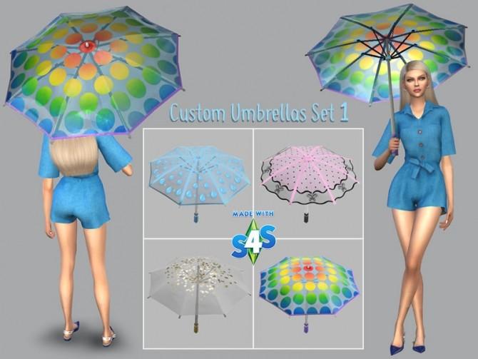 Custom Umbrellas for The Seasons by Giulietta at Sims 4 Studio image 936 670x503 Sims 4 Updates