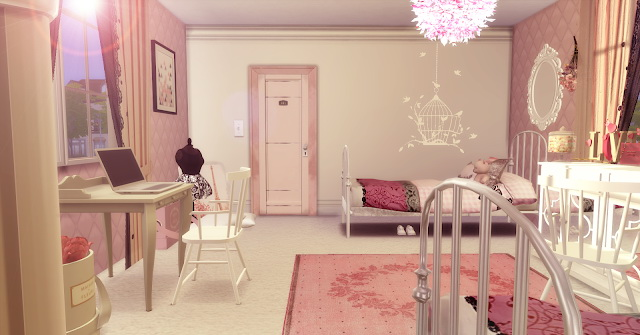 Twins Girls Dream Bedroom at Lily Sims image 937 Sims 4 Updates